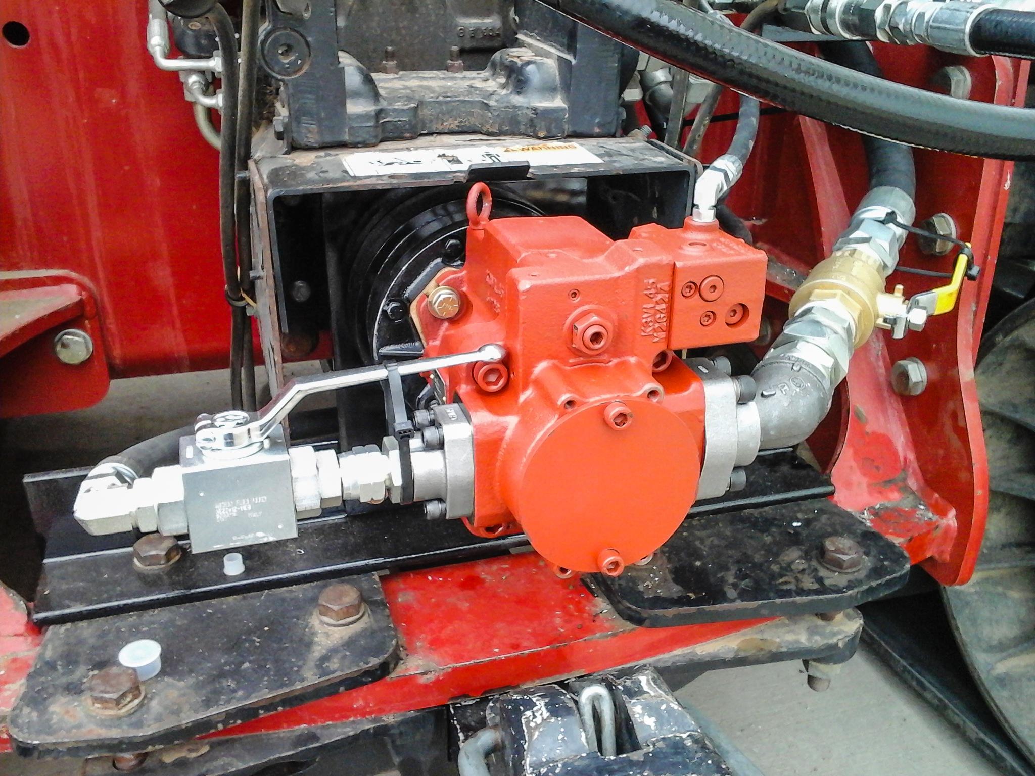 Pto Auxiliary Hydraulic System Dakota Fluid Power